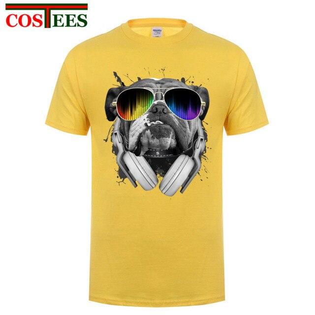 c7904d6ab6 US $7.47 41% OFF 3D t shirts men 2017 kawaii dog universe marcelo burlon  medusa compression New brand Bulldog Dj Mens tshirt Tops suprem Teeshirt-in  ...