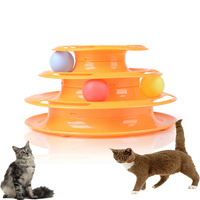 2016 Hot Cats Toys For Cat Pet Cat Interesting Funny Toy Amusement Plate Giochi Gatto Juguetes