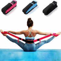 Ремень для йоги йога ремень Эластичный регулируемый d-кольцевой нескользящий Йога стрейч для йоги
