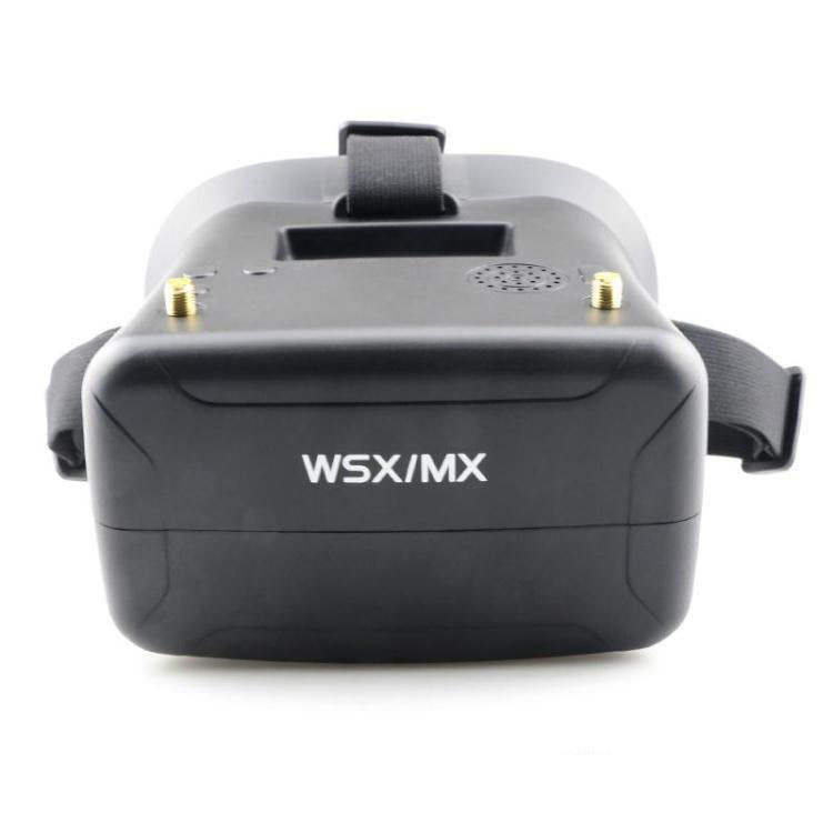 Wsx mx hm 5.8g fpv video glasses 40 two-thread glasses headset фрезы oem 5 6 wsx 126