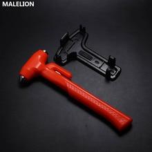 цена на Portable Long Handle Car Life Saving Hammer Self-Driving Safety Camping Emergency Belt Cutting Machine Self-Help Escape Hammer