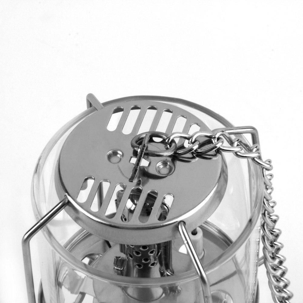 portátil de alumínio luz gás tenda lâmpada