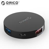 ORICO HA4U Super Speed 4 Port USB HUB 3 0 Portable OTG HUB USB Splitter With