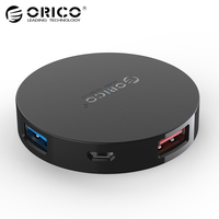 ORICO HA4U Super Speed 4 Port USB HUB 3 0 Portable OTG HUB USB Splitter With