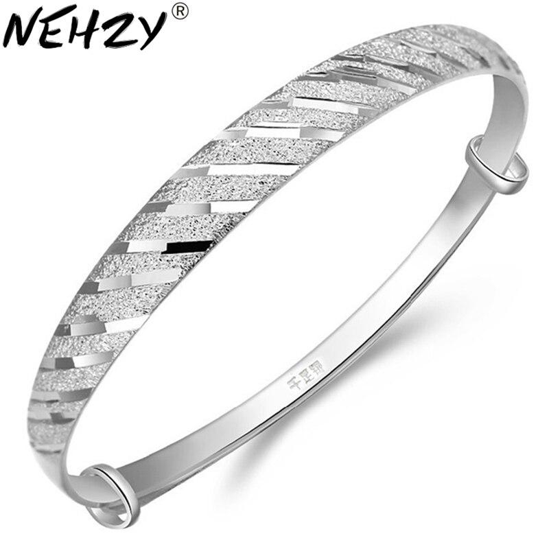 Discret Nehzy 999 Bracelet En Argent Fin Enfant Bijoux Vintage Coréen Femmes Modèles Météore Bracelet Bijoux En Gros Les Clients D'Abord