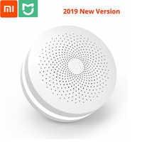 2019 neue Xiaomi Mijia Multifunktionale Gateway 2 Hub Alarm System Intelligent Online Radio Nacht Licht Glocke Smart Home Hub