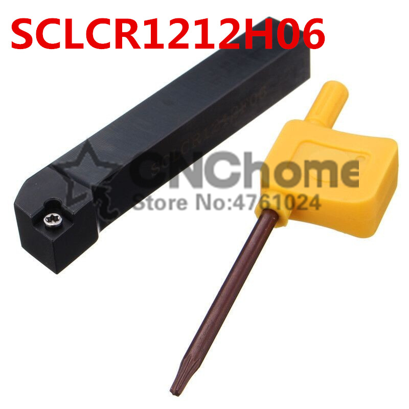 SCLCR1212H06/ SCLCL1212H06 Metal Lathe Cutting Tools Lathe Machine CNC Turning Tools External Turning Tool Holder S-Type SCLCR/L