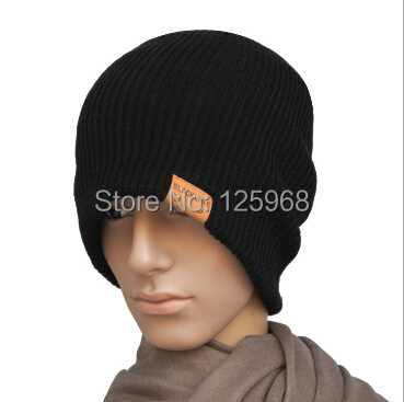Free Shipping 2014 New Men Baggy Beanie Hip-hop Winter Skull Cap Hat Fashion Warm Caps And Hats