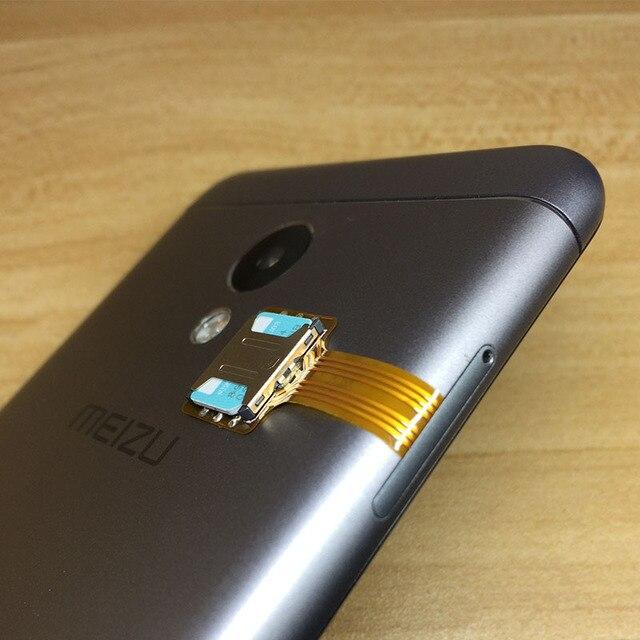 Adaptador Micro SD Dual Powstro tarjeta Micro SIM híbrida doble para Android extensor 2 adaptador de Micro extensión