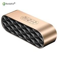CSR4.0 Stereo Subwoofer Głośnik Bluetooth do Laptopa Pulpit Multimedia Speaker Metal Hifi Mini Domowego Efekty Dźwiękowe