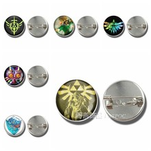 Hot Game Legend of Zelda Kaca Dome Cabochon Bros Badge Triforce Link Perisai Pedang Midna Emblem Logam Perhiasan Pendant Hadiah(China)
