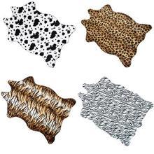 Leopard Printed Tiger Grain Carpet Door Kitchen Non-slip Living Room Bedside Sofa Tatami mat
