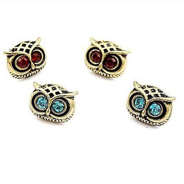 2017 Special Offer New Arrival Trendy Women's Fashion Alloy Owl Earrings Dangle Earrings Wholesale Cute Animal Earrings E43