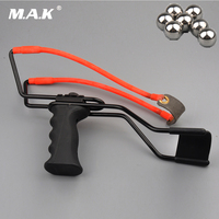 Professional Slingshot Hunting Powerful Catapult Stainless Steel Hunter Aluminium Alloy Sling Shot Caza With Stretching Wrist