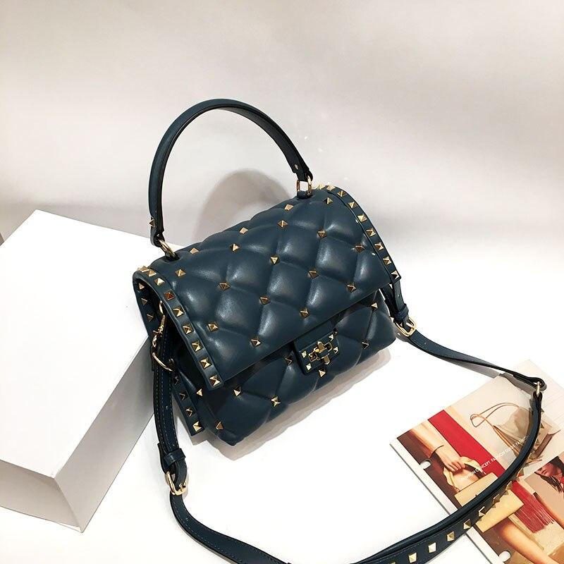 Роскошные женские сумки от известного дизайнерского бренда из овечьей кожи, высококачественные сумки на плечо из натуральной кожи, сумки м... - 3
