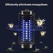 Mosquito Killer LED Lamps Electric Fly Mosquito Trap Light Anti Mosquito Repellent Killer Pest Control Insect Repeller(China)