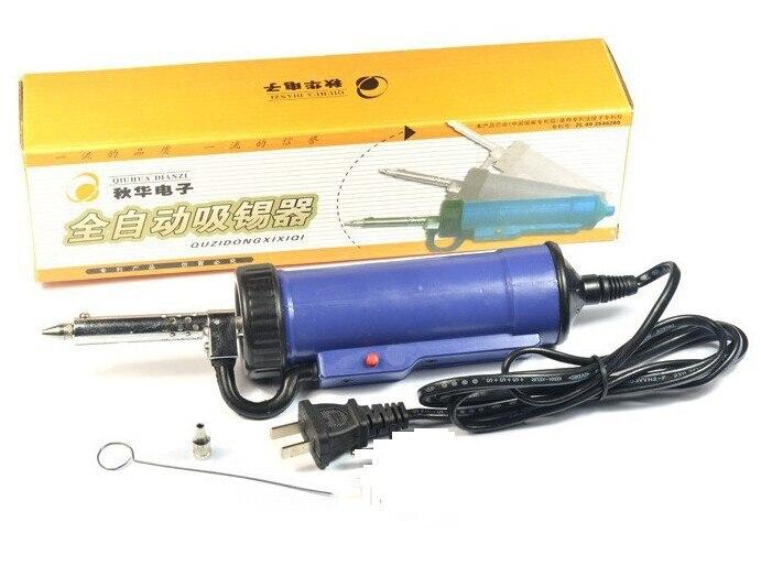 220V 30W Electric Vacuum Solder Sucker Desoldering Pump Iron Gun Welding Tool