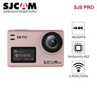 Оригинальный SJCAM SJ8 Профессиональный стабилизатор экшен камера Эра 4 К 1200 мАч Водонепроницаемый Спорт экшен камера Wi Fi пульт дистанционного