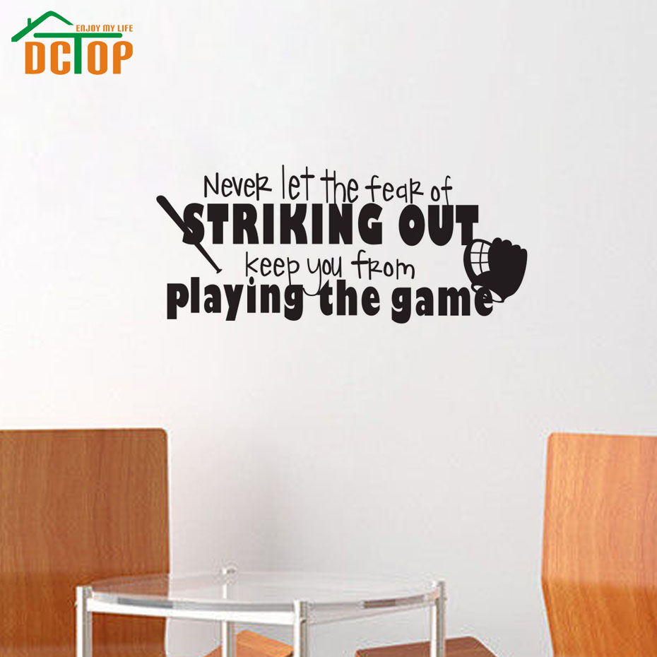 High Quality Softball Decals PromotionShop For High Quality - Vinyl vinyl wall decals baseball