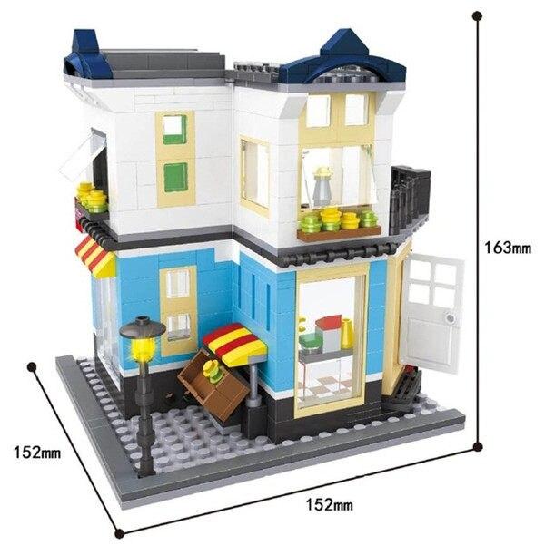Online Shop Hsanhe City Series Building Blocks street Store ...