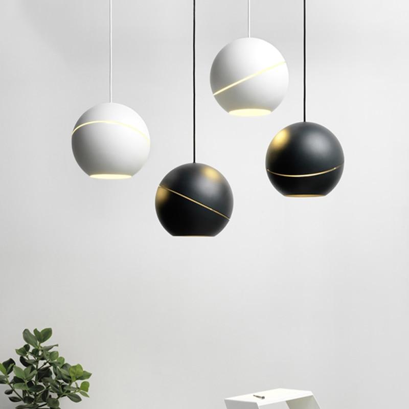 Modern LED G9 Hemisphere Pendant Lights Postmodernism Northern Europe LED Pendant Lamp AC 90-260V  Bedroom Parlor Study Hanglamp