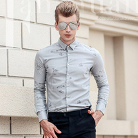 FANZHUAN Brands Clothing Men Shirt Mens Business Casual Shirts 2017 New Arrival Men Long Sleeve Camisa