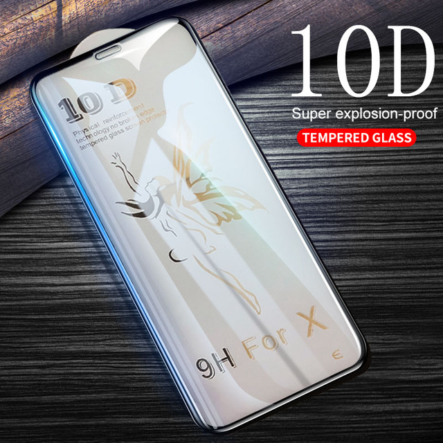 Tempered Glass iPhone XS Max Film 5