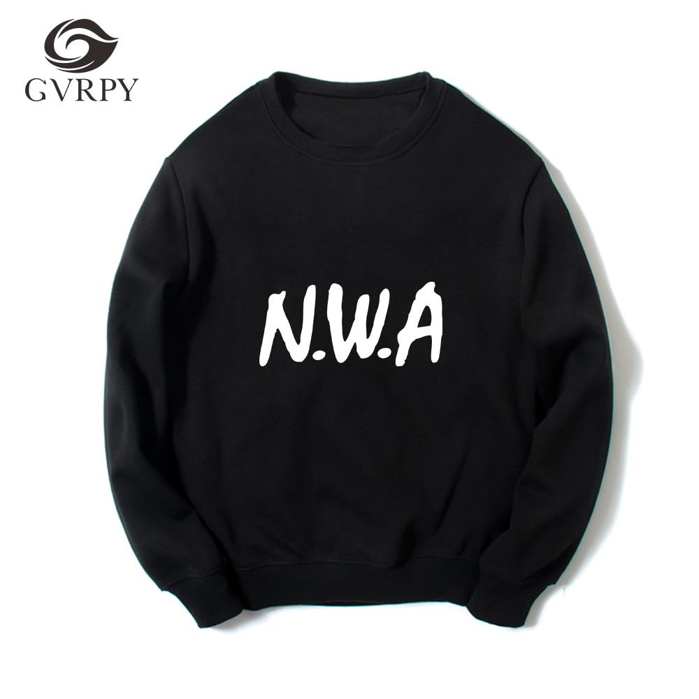 Classic Band NWA Compton Printed Men's Sweatshirt Men's Long Sleeve O-neck Loose Harajuku Hoodie Round Neck Fashion Pullover Jac