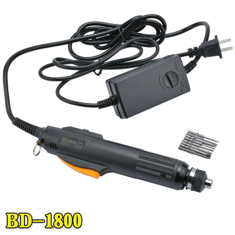 цена на Automatic Electric Screwdriver 220v Electric Line Type Electric Screwdriver BD-1800