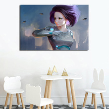 Battle Angel Of Alita Canvas Posters Prints Wall Art Oil Painting Decorative Picture Bedroom Modern Home Decoration Accessories