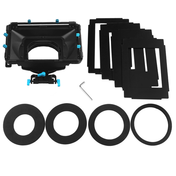FOTGA DP3000 Pro DSLR Matte Box W/ Sunshade Boards Donuts For 15mm Rod Rail Rig BMCC RED ONE Follow Focus