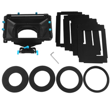 FOTGA DP3000 Pro DSLR Матовая коробка ж/солнцезащитные щиты пончики для 15 мм стержень рельсовый Риг BMCC красный один фоллоу фокус
