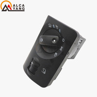 OEM 4B1941531E Car Headlight Fog Light Switch Control Auto Leveling Black Facelift For A Udi A6