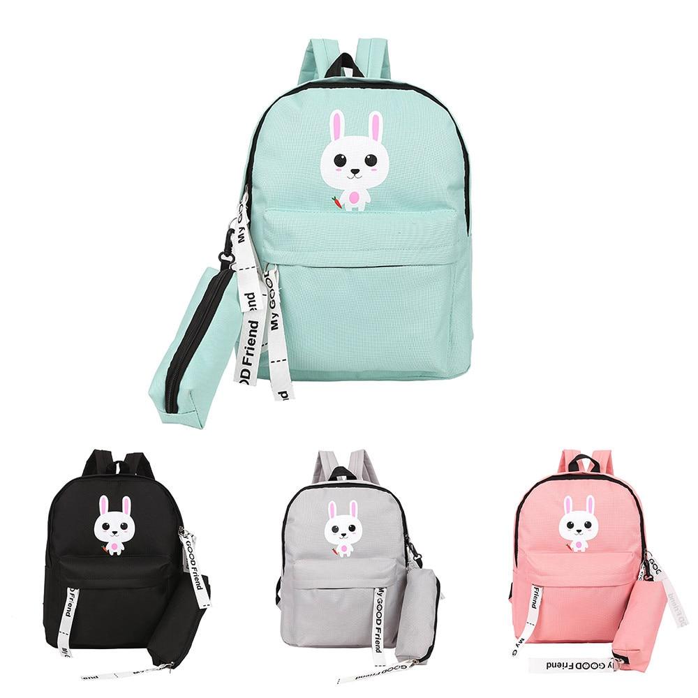 Adult Backpack Teenage Girls Bogs School Backpack Bag -2976