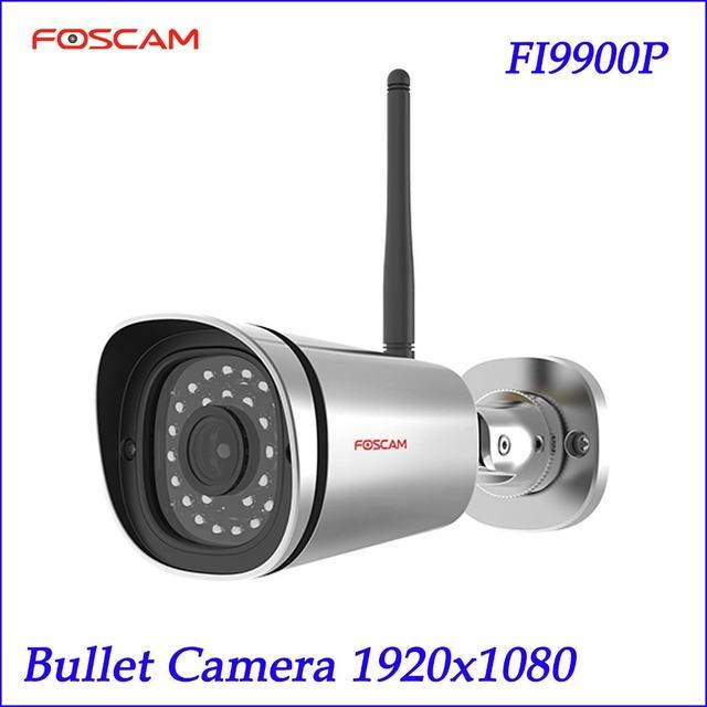 Foscam Impermeable HD 1080 P P2P FI9900P Día y Visión Nocturna Cámara de Red IP de Internet Inalámbrico