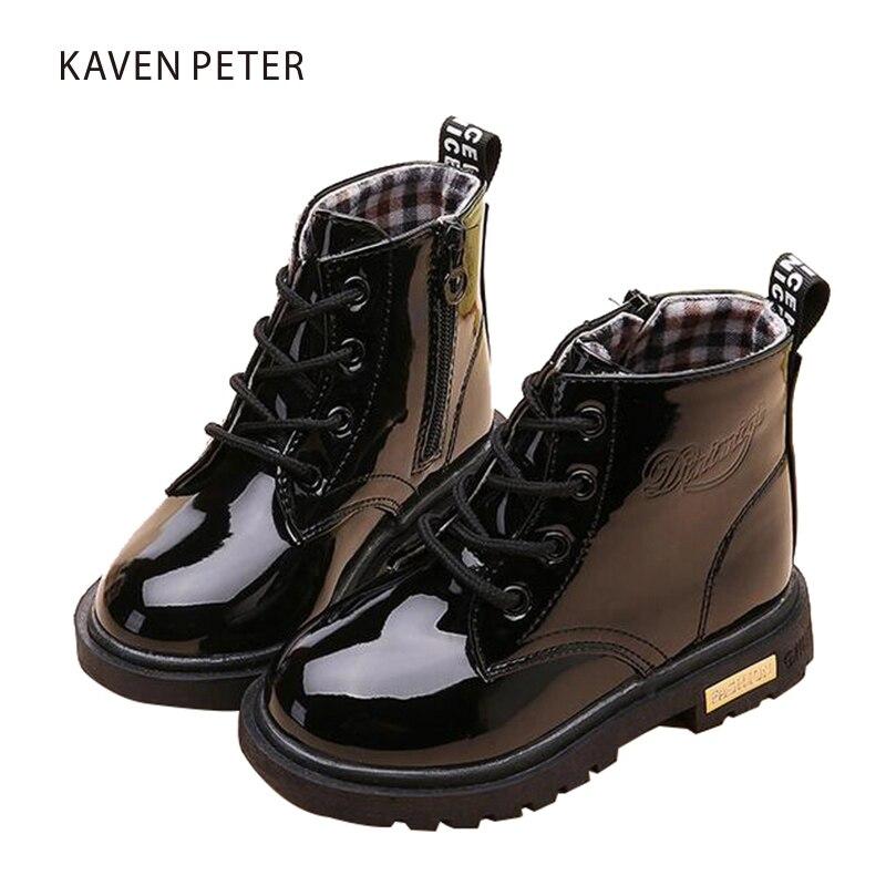 Children s spring font b boots b font font b ankle b font Martin font b