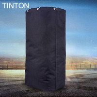 TINTON 2018 new fashion Korean men's simple folding bag men's travel sports outdoor polyester big bag bunch pocket hot