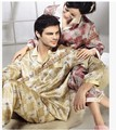 Men and women lovers long sleeve pajamas Art, authentic new mulberry silk household to 2083 100%