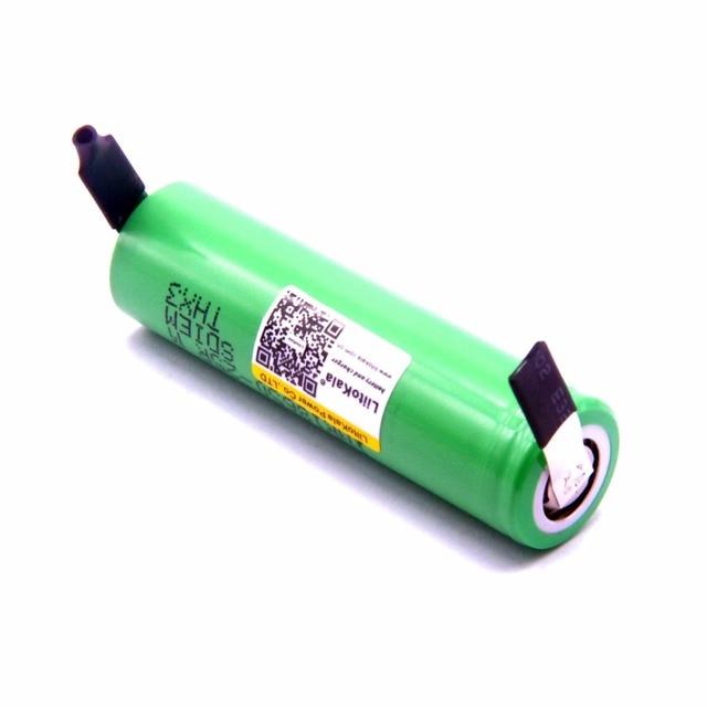 2019 nouveau 3 pièces liitokala 18650 2500mah batterie au lithium 25R inr1865025RM 20A batterie + livraison gratuite