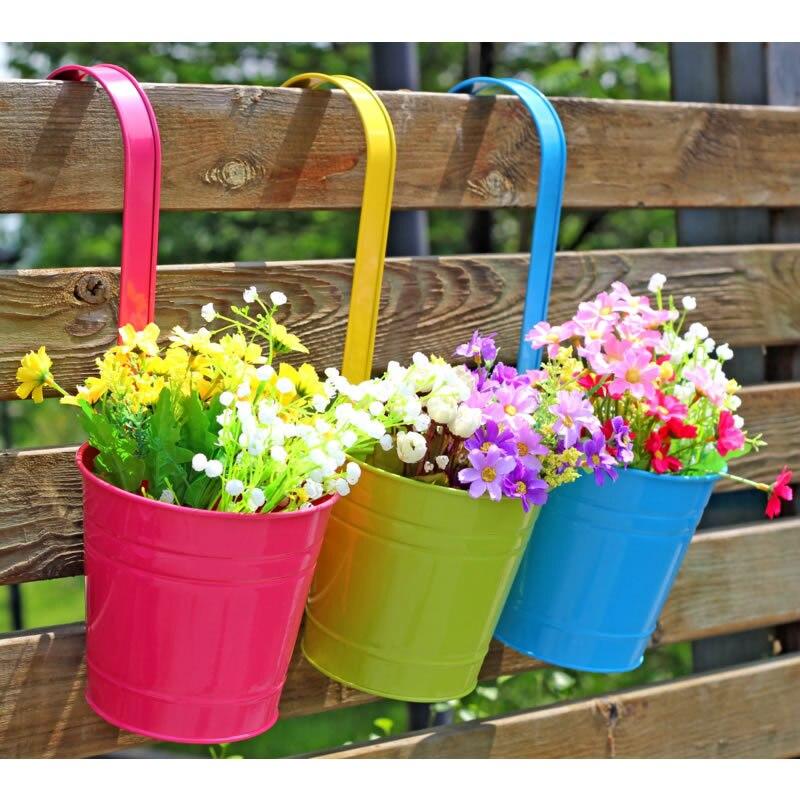 33 3 Cm Schmiedeeisen Grosse Blume Barrel 1 Stuck Balkon Blumentopfe