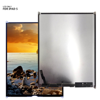 100% good quality lcd screen display For iPad 5 iPad Air A1474 A1475 A1476 free tools