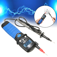 High Quality HP-38B Pen Type Digital Voltmeter Multimeter AC/DC Power Voltage Ohm Continuity Tester Tool With LCD Backlight