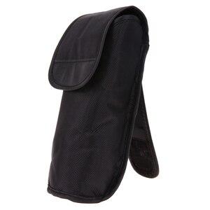 Image 5 - שחור מצלמה/וידאו שקיות נייד פלאש תיק Case פאוץ כיסוי עבור Nik n SB800 SB900 SB600 G099 S235 מצלמה באיכות גבוהה תיק חדש