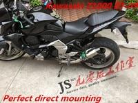 For kasaki 07 09 Z1000 motorcycle modified carbon fibre small hexagonal tailpipe
