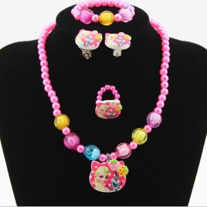 4pcs Imitation Pearl Cartoon m