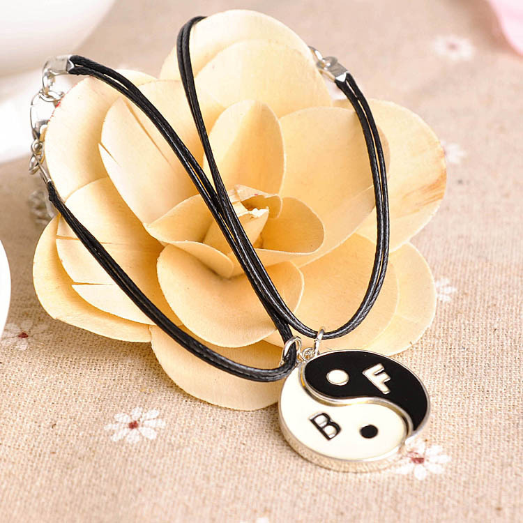 Pendentif yin yang couple