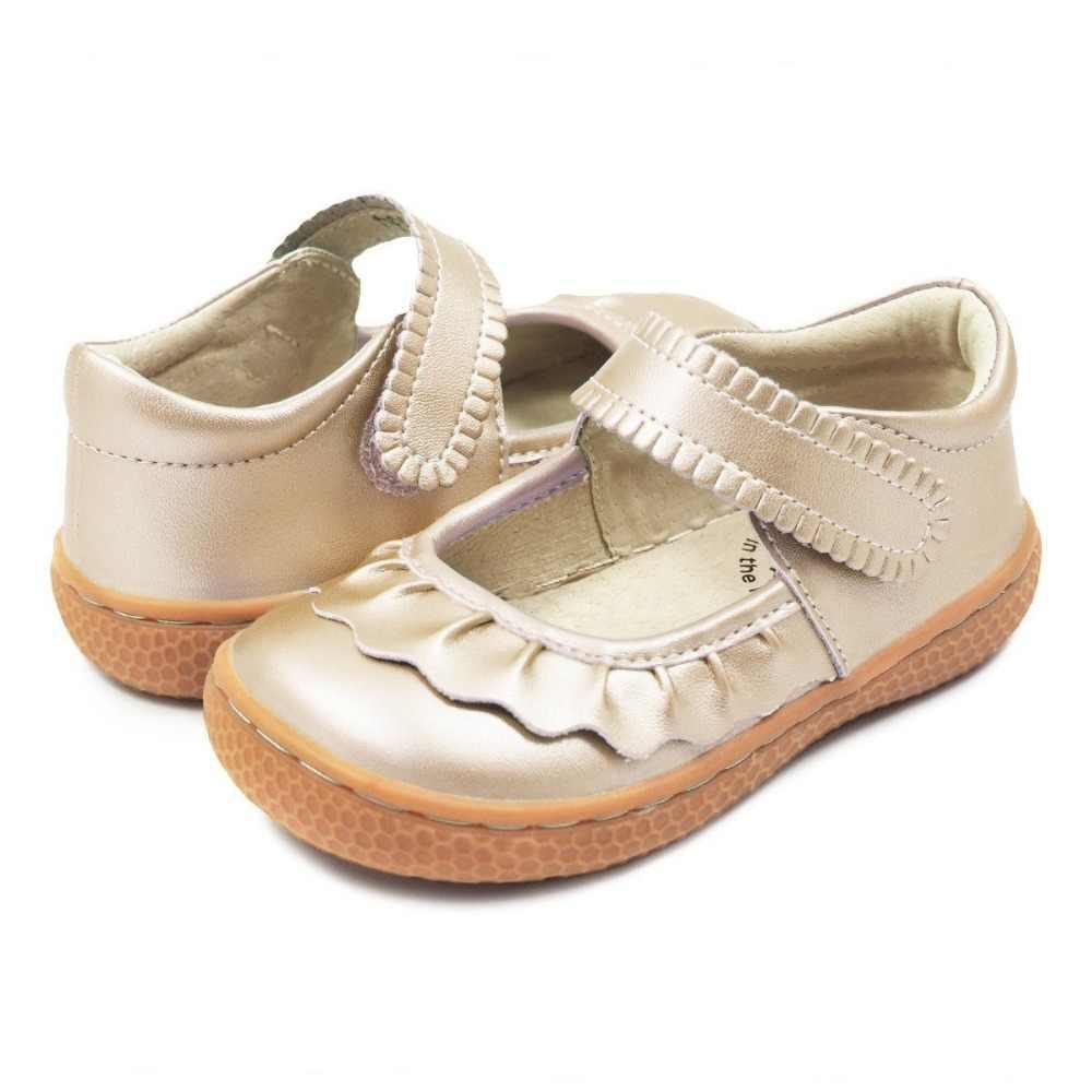 Tipsietoes Top Merk Kwaliteit Echt Leer Kinderen Schoenen Meisjes Sneakers Voor Mode Barefoot Peuters Mary Jane Gratis Schip
