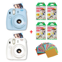 Genuine Fuji Fujifilm Instax Mini 8 Instant Film Camera Set With 80 Sheets Fujifilm Instax Mini