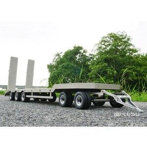 Крепеж для грузовика, подвесной металлический, маленький, инженерный, для перевозки грузовиков, полуприцепа, модель, LS-A0001, RCLESU tiiya, 1/14