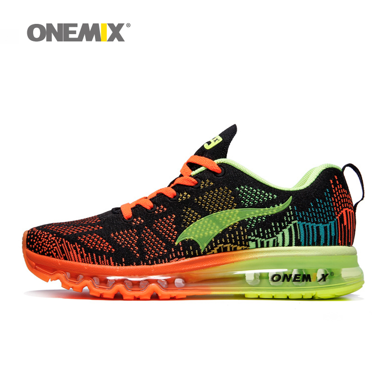 Onemix men's sport running shoes music rhythm men's sneakers breathable mesh outdoor athletic shoe EU size 39-46 free shipping накопитель ssd a data adata ultimate su800 512gb asu800ss 512gt c